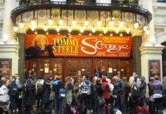 Scrooge returns to the London Palladium for the festive season between November 2012 - January 2013