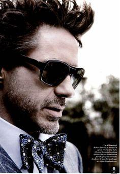 this man, robertdowneyjr, messy hair, robert downey jr, bow ties, iron man, robert downy jr, style fashion, hair loss