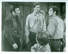 James Drury David Hartman The Virginian Original 1967 NBC TV Photo ...