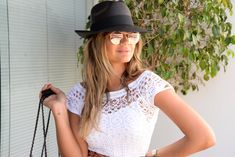 Thassia Naves - Ray Ban Round Rose