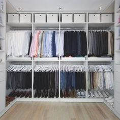 Closet Master Bedroom Closet Design, Pictures, Remodel, Decor and Ideas - page 4