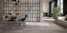 Cooperativa Ceramica Imola produces floor and wall coverings in porcelain stoneware suitable for both interior and exterior for residential and commercial Imola, House Design, Room Design, Interior Design Tips, Home, Imperial Tile, Modern Room Design, Interior Inspo, Living Design