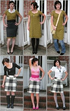 three ways to wear vintage  ~styles 1 piece of VINTAGE clothing 3 different ways.