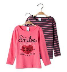 Sklep internetowy C&A | Zestaw t-shirtów, kolor:  różowy / różowy | Dobra jakość w niskiej cenie
