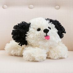 Awww! What a cute pooch! If you've ever wanted to start crocheting amigurumi, then this pattern is for you.