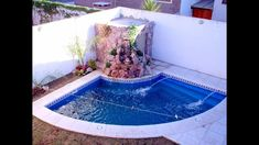 Swimming pools are such a fabulous luxury garden addition, but of you have a small yard, you might not know they are an option for you!