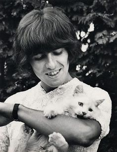 George Harrison with a feline friend  When it comes to other types of great products and services for residence proceed towards http://atcemsce.org/cleaning-tips-for-kitchen/