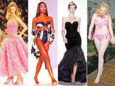 写真左から/ケイト・モス(Kate Moss)、ナオミ・キャンベル(Naomi Campbell)、ステラ・テナント(Stella Tennant)、ソフィー・ダール(Sophie Dahl)