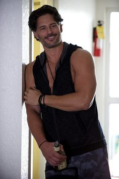 Oh hey, Joe Manganiello. We didn't see you there.