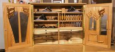 Hand tool cabinet - by DHS @ LumberJocks.com ~ woodworking community