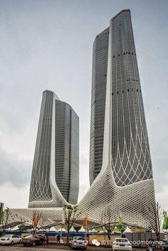 Nanjing Youth Olympic Centre in Zaha Hadid, China. https://ExploreTraveler.com