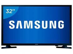 """TV LED 32"""" Samsung UN32J4000 - Conversor Integrado 2 HDMI 1 USB"""