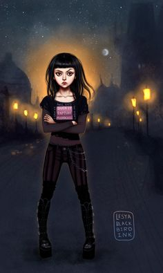 Zuzana by @LesyaBlackBird; Daughter of Smoke & Bone