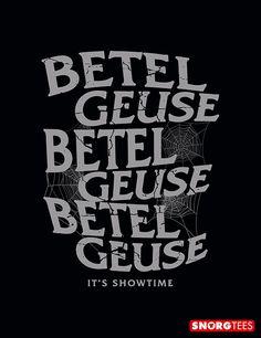 """Betelgeuse"" black t-shirt"