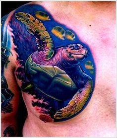 b00d90027f86a turtle tattoo designs (10) Animal Tattoos For Men, Best Tattoo Designs,  Turtle