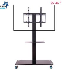"Mobile TV Display Floor Stand Height Adjustable Mount with Wheels DVD holder for Flat Panel LED LCD Plasma Screen 25"" to 46""     Tag a friend who would love this!     FREE Shipping Worldwide     {Get it here ---> http://swixelectronics.com/product/mobile-tv-display-floor-stand-height-adjustable-mount-with-wheels-dvd-holder-for-flat-panel-led-lcd-plasma-screen-25-to-46/ 