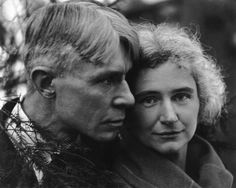 tartanspartan:    Mr. and Mrs. Carl and Lillian Sandburg — Edward Steichen, 1923
