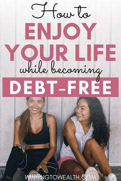 Can you pay off debt and still enjoy life? I interviewed Holly of From Possibility To Actuality to discuss how she balanced both goals. Ways To Save Money, Money Saving Tips, Money Tips, How To Make Money, Debt Repayment, Debt Payoff, Paying Off Credit Cards, Get Out Of Debt, Lose 20 Pounds