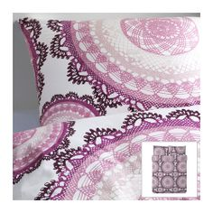 2014 Pantone Color of the Year - Radiant Orchid - Work this lovely shade of purple into your bedroom with textiles, like the LYCKOAX duvet. My current duvet! Cama Ikea, Dorm Bedding, Linen Bedding, Bedding Sets, Bed Linen, Bed Covers, Duvet Cover Sets, Ikea Duvet, Ikea Us