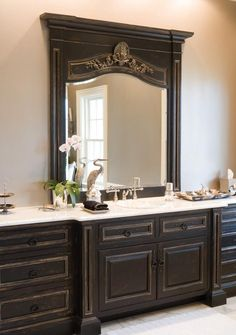 Beautiful cabinetry finish. Awesome for master en suite!