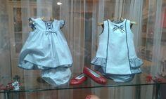 Azul y Rosa Artesanía Infantil BASAURI ( Vizcaya )