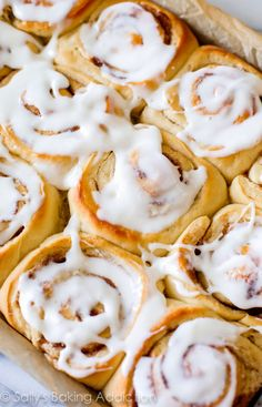 Soft, fluffy, buttery cinnamon rolls you can begin ahead of time. Save time in the morning and have everyone wake up to warm, fresh, cinnamon goodness!
