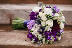 purple white wildflower inspired wedding flower bouquet utah florist calie rose mikki platt photography www.calierose.com