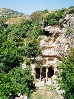 Besikli Megara. Catacomb tombs near Antioch, Turkey.