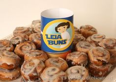 Leia Buns~ ReMarkable Home's Star Wars Graduation Party