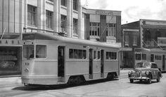 1954 Brisbane Tram, Brisbane Tramway Museum, Australia
