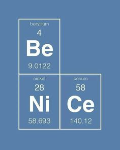 Worthy of Chemistry Cat ░ Science says be nice