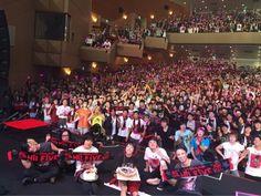 LiVE is Smile Always ~ Hi! FiVE ~ tour @ down in Sendai.LiSA's happy Birthday