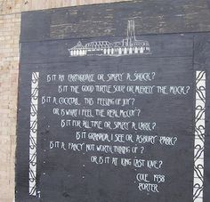 Murals in Asbury PArk | ... all time, or simply a lark? / Is it Granada I see, or Asbury Park