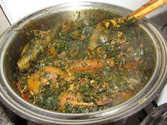 Nigerian Soup Recipe, All Nigerian Recipes, African Recipes, Ethnic Recipes, Soup Recipes, Vegan Recipes, Cooking Recipes, Nigeria Food, African Cuisine