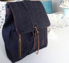 Kot Sırt Çantası,jean backpack,denim sırt çantsı Zet.com'da 99 TL