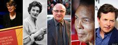 8 Famous Faces Of Parkinson's Disease #parkinsons