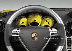 Suncoast Porsche Parts & Accessories Gauge Face - 987 Instrument Cluster Porsche Accessories, Boxster Spyder, Porsche Parts, Cayman S, Porsche Models, Gauges, Instruments, Vehicles, Face