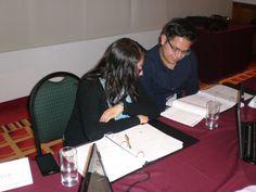 Durante el curso los asistentes realizaron equipos para poder realizar dinámicas de los temas.