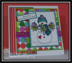 Best Friends are Flakes card using Whimsie Doodles Image