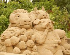 Sand+Sculpture+Festival   Sand Sculpture in Sidney Friedman Park