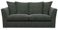 Cavendish Upholstery Richmond 2-Seater Pillow Back, Pewter: Amazon.co.uk: Kitchen & Home