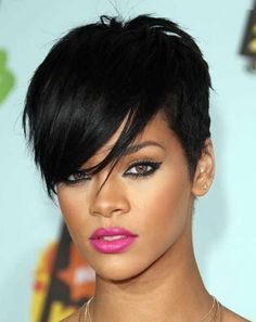short hairstyles 2014 | Rihanna short hair styles 2014