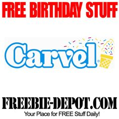 FREE BDay Ice Cream