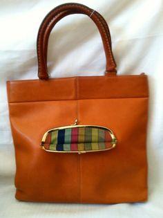 976641d726 Coming soon  Mint Bonnie Cashin Design for COACH 1960s Kisslock Tote   Purse