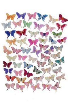 Wedding Artificial Butterfly Assortment 3 Inch (120 pc)