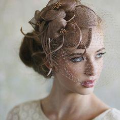 Véus birdcage para noivas. #casamento #veus #noivas #acessorios #birdcage