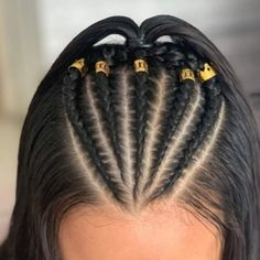 Learn how to create quick and easy back to school hairstyles with braids # Easy Hairstyles braids Create Easy Hairstyles learn Quick School Baddie Hairstyles, Braided Hairstyles Updo, Teen Hairstyles, College Hairstyles, Simple Hairstyles, Funky Hairstyles For Long Hair, Glasses Hairstyles, Wedding Hairstyles, Stylish Hairstyles