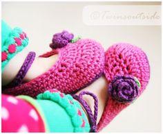 Como tejer zapatitos de bebé a crochet - Imagui