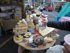 Borough Market - Cheese stall | Flickr - Photo Sharing!