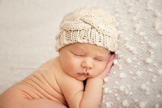 Knit Newborn Beanie Newborn Photo Prop Newborn by ItsyBitsyBlooms, $15.00